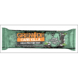 Grenade Carb Killa Protein Bar. Dark Chocolate Mint.
