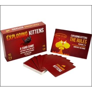Exploding Kittens Card Game. Original Edition. Highly Strategic Game.