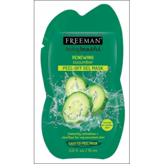 Freeman Feeling Beautiful Renewing Cucumber Mask. 1 Sachet.