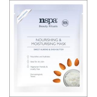 NSPA Nourising & Moisturising Mask. Sweet Almond/Shea. 1 Sachet.