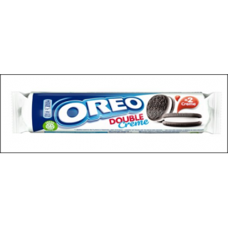 Oreo Double Creme Biscuits. 157g.