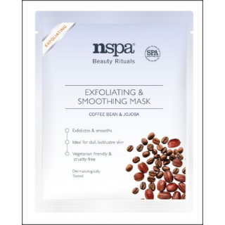 NSPA Exfoliating & Smoothing Mask. Coffee Bean & Jojoba. 1 Sachet.