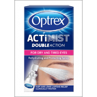 Optrex Actimist Double Action. Dry & Tired Eyes. 10ml.