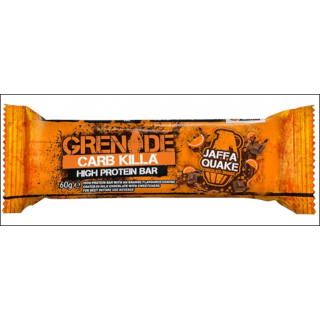 Grenade Carb Killa Protein Bar. Jaffa Quake.